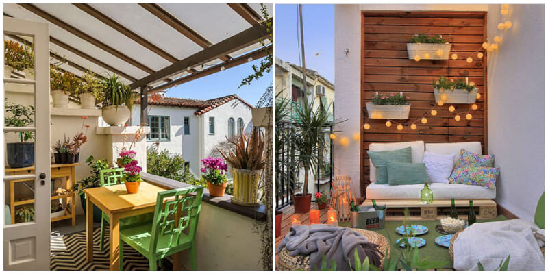 Stunning Dreamy Balcony Ideas To Connect With Nature