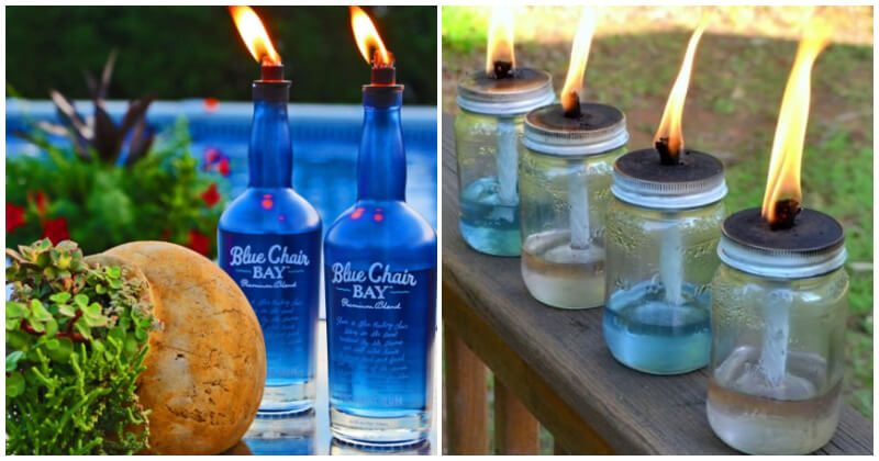 21 Best DIY Tiki Torch Ideas for Your Balcony, Porch and Garden
