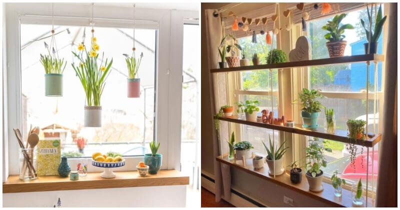 23 Window Sill Decorating Ideas
