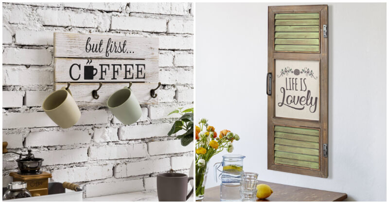 27 Lovely and Cool Kitchen Wall Decor Ideas