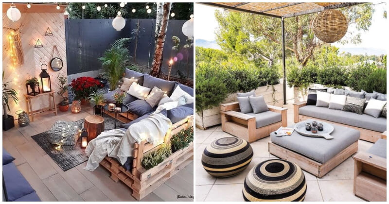 22 Mind-blowing Garden Living Room Ideas