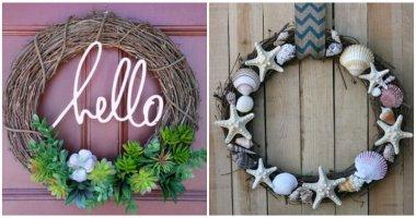 20 Adorable DIY Summer Wreath Ideas To Liven Up Your Front Door