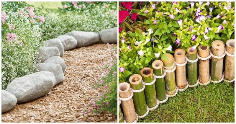 20 Inexpensive Garden Border Ideas