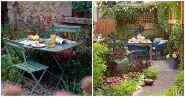 25 Spectacular Garden Dining Space Ideas