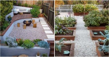19 Crushed Stone and Pebble Ideas For Garden Yard Landscaping