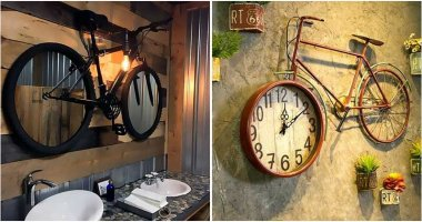 Brilliant Projects To Reuse Old Bicycles In Decorating Home