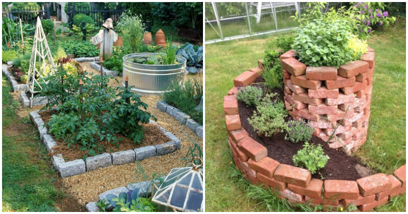 15 Recycled DIY Raised Garden Bed Ideas