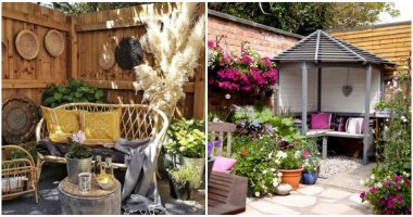 Amazing Small Relaxing Seating Corner Garden Ideas