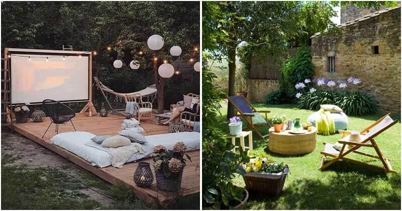 19 Spectacular Relaxing Garden Ideas