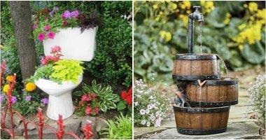 14 DIY Ideas to Upgrade Bathroom Old Items For The Garden