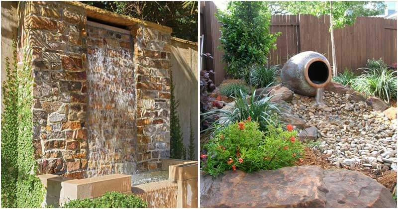 21 Unique Water Ideas For Your Outdoor Space