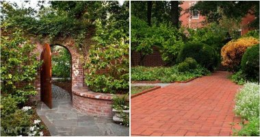 22 Beautiful Landscaping With Brick Ideas