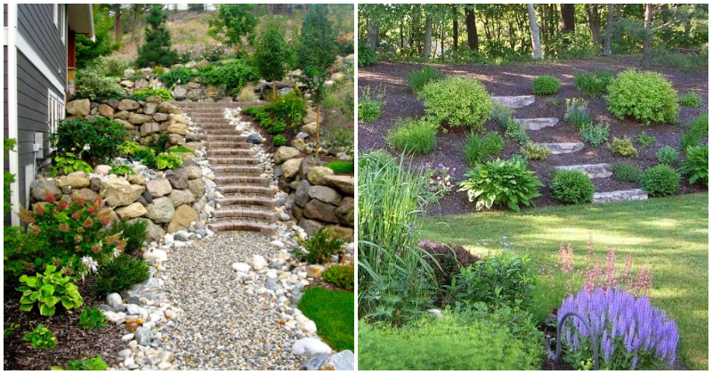29 Appealing Slope Landscaping Ideas