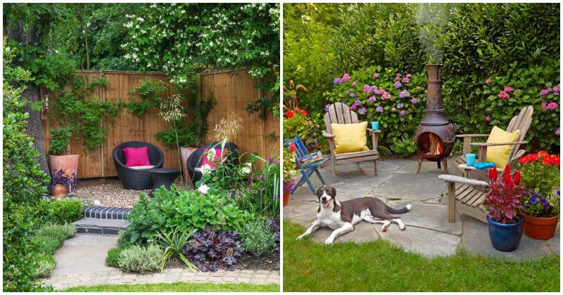 23 Cozy Garden Corner Ideas