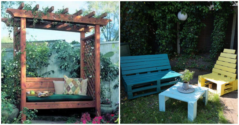 Simple DIY Garden Bench Projects