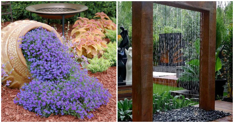 24 Amazing DIY Garden Focal Point Ideas From Old Items