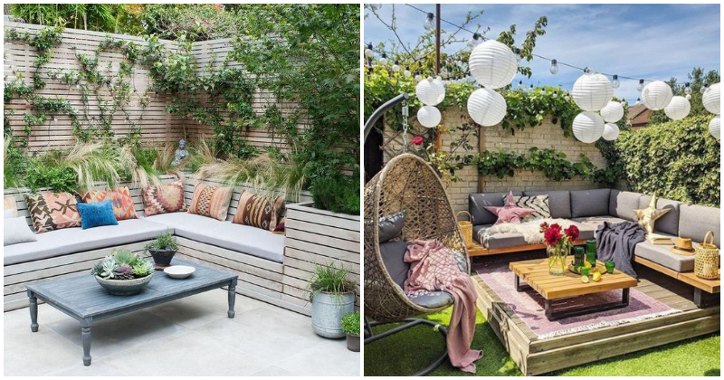 27 Amazing Garden Living Room Ideas With Sofa Furniture