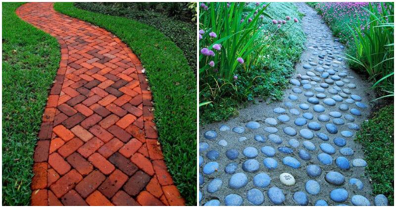22 Inspiring Long Garden Path Pictures