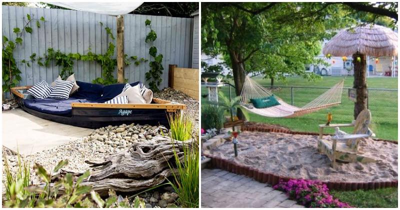 Breathtaking Beach Themed Garden Ideas