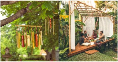 20 Inspiring DIY Bamboo Garden Projects For The Weekend