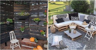 21 Striking Landscaping With Pallet Ideas