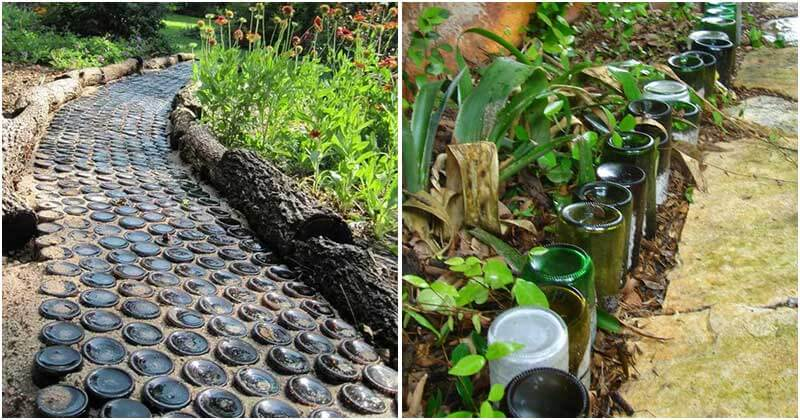19 Creative Garden Projects Made Use Of Bottles