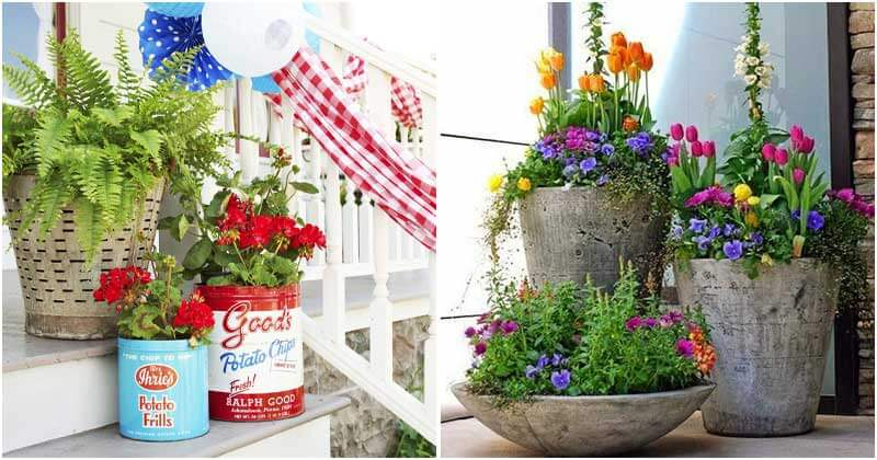 16 Creative and Fun Patio Planter Projects
