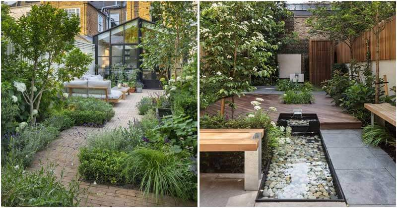 25 Inspiring Landscaping Ideas With Narrow and Long Garden