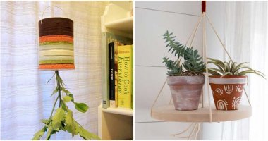 20 Creative and Easy DIY Hanging Planter Ideas