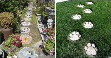 Creative And Fun DIY Garden Stepping Stone Ideas