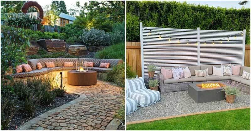 27 Dreamy Backyard Seating Ideas