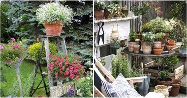 30 Vintage Garden Decor Ideas