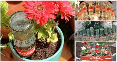 Creative Recycled Coke Bottle Ideas In The Garden