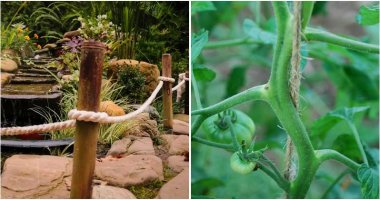 18 Creative DIY Rope Ideas For Using In The Garden