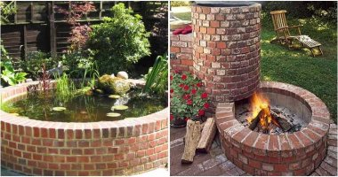 18 Easy and Fun DIY Brick Projects In Your Garden