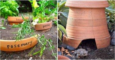 Awesome Recycle Broken Pot Ideas To Your Garden