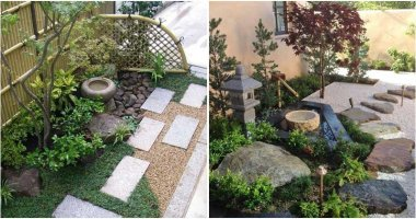 21 Small Japanese Gardens For Front Yards Landscape Design With Peaceful and Harmonious Natural Arts