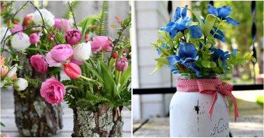 20 Easiest DIY Vase Ideas To Display Your Cut Flowers
